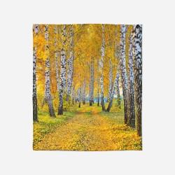 Pătură - Birch in Autumn