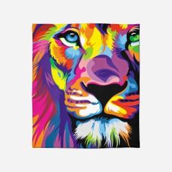 Pătură - Colorful Lion