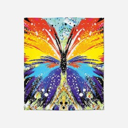 Pătură - Jazzy butterfly