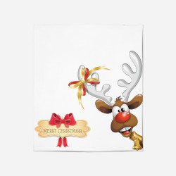 Pătură de Crăciun - Merry Christmas