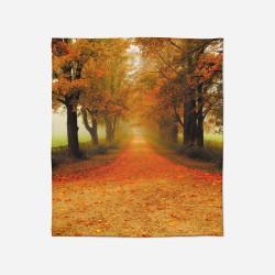 3D Pătură - Autumn Path