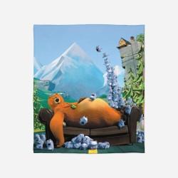 Pături pentru copii - Grizzy and The Lemmings