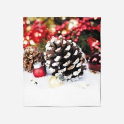 Pătură de Crăciun - Christmas Fir Cones
