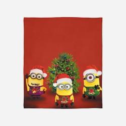 Pătură de Crăciun - Christmas Minions