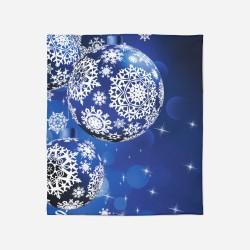 Pătură de Crăciun - Christmas Balls
