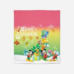 Pătură de Crăciun - Mickey Mouse Christmas