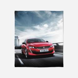 Pătură - Peugeot Red