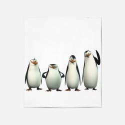 Pături pentru copii - Penguins of Madagascar