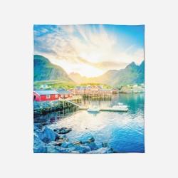 Pătură - Mountain in Norway