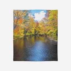 Pătură - River in Autumn