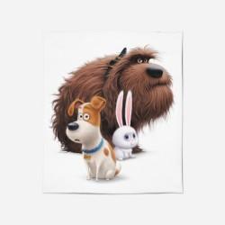 Pături pentru copii - Home Alone Animation