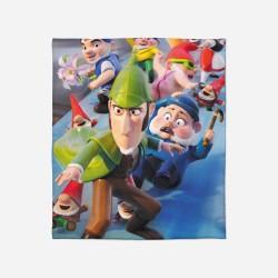 Pături pentru copii - Sherlock Gnomes