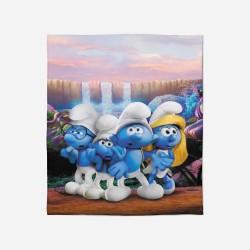 Pături pentru copii - Smurfs