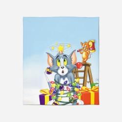 Pături pentru copii - Tom And Jerry Christmas
