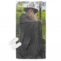 Prosop de plajă 3D Gandalf