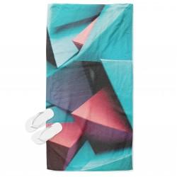 Prosop de plajă de Artă Forme geometrice - Geometric Forms