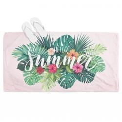Prosop de plajă spectaculos Salut Vară- Hello Summer