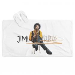 3D Prosop de plajă Jimi Hendrix