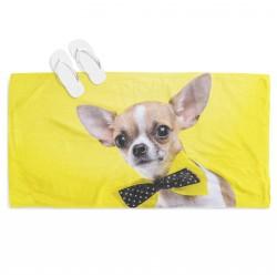 Prosop de plajă adorabil Câine Chihuahua - Dog Chihuahua