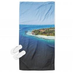 Prosop de plajă Vacanță în Maldive - Holiday in Maldives