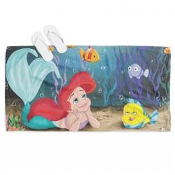 Prosop de plajă pentru copii The Little Mermaid Ariel
