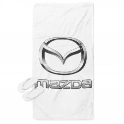 3D Prosop de plajă Mazda Logo