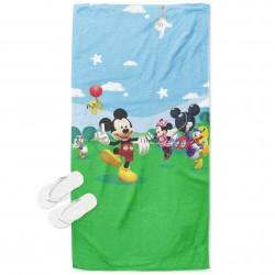 Prosop de plajă pentru copii Mickey Mouse
