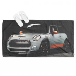 Prosop de plajă сu mașină Mini Cooper