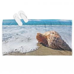 Prosoape de plajă cu peisaje și atracții turistice