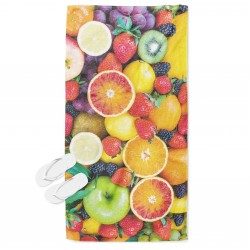 Prosop de plajă Fructe proaspete - Fresh Fruits