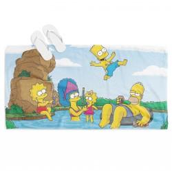 Prosop de plajă The Simpson