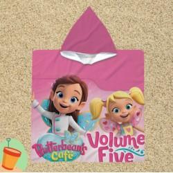 Poncho cu gluga pentru copii Butterbeans Café