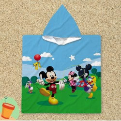 Poncho cu gluga Mickey Mouse