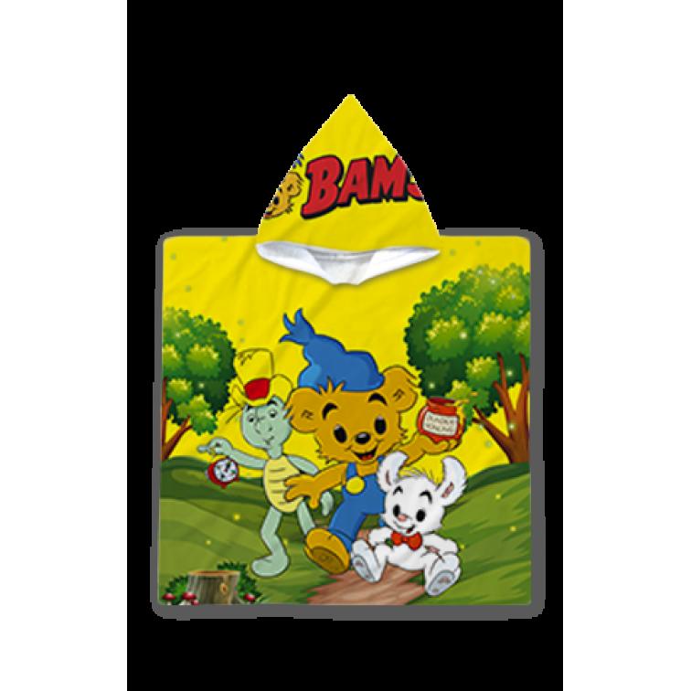 Poncho cu gluga pentru copii - Bamse