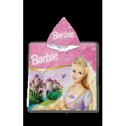 Poncho pentru copii Barbie face