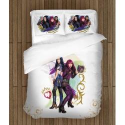 Lenjerie de pat pentru copii Fan Descendenții - Descendants Heroes