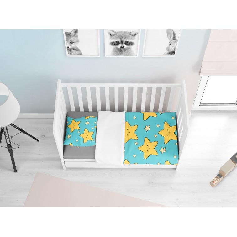 Lenjerie de pat Bebeluși Steluță Drăguță - Cute Star