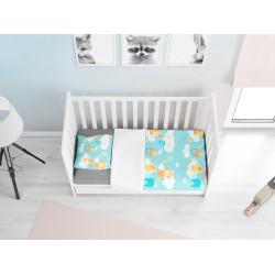 Set cearșafuri pentru Bebeluși Noapte bună - Good night
