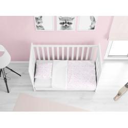 Lenjerie de pat Bebeluși Bebeluș roz- Little baby pink