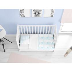 Cearșafuri pentru bebeluși din bumbac Băiețel - Newborn baby boy