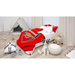 Lenjerie de pat pentru copii Arsenal- Arsenal Red