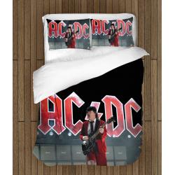 Lenjerie de pat spectaculoasă AC/DC