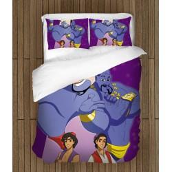 Lenjerie de pat pentru copii Aladdin