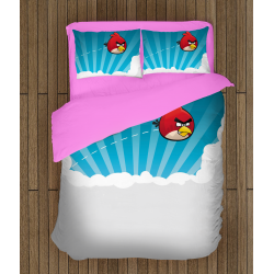 Lenjerie de pat Angry Birds