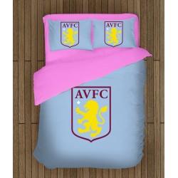 3D Lenjerie de pat Fotbal - Aston Villa