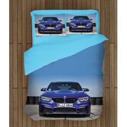 Set cearșafuri de pat cu BMW - BMW Blue