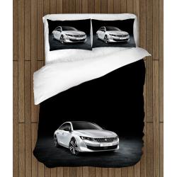 Lenjerie de pat cu mașini Peugeot - Peugeot