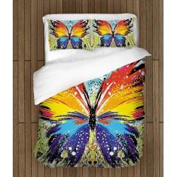 Lenjerie de pat Artă Fluture Jazzy - Jazzy butterfly