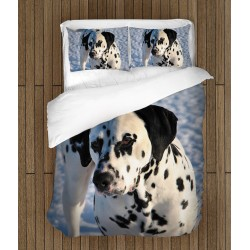 Cearșafuri de pat cu cățel Dalmatian