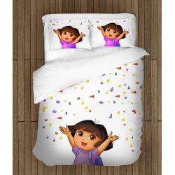 Cearșafuri pentru copii Dora exploratorul - Dora
